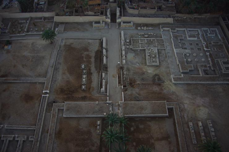 王家の墓、気球ツアー