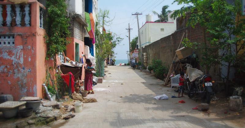 マハーバリプラムの街並