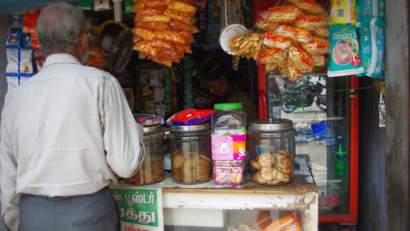 マハーバリプラムの売店