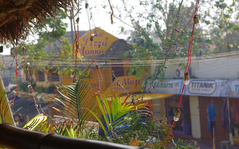 マハーバリプラムのカフェ