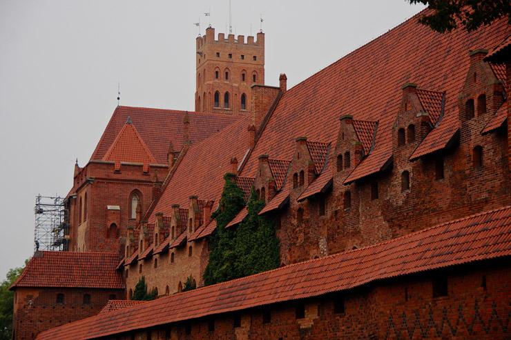 マルボルクのドイツ騎士団の城