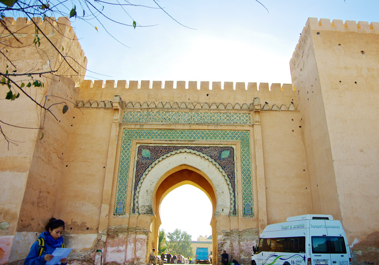 古都メクネス(Historic City of Meknes)