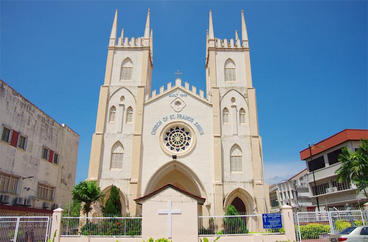 フランシスコ・ザビエル教会(St. Francis Xavier's Church)