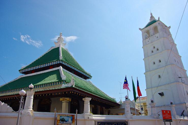 カンボン・クリン・モスク(Kampung Kling Mosque)