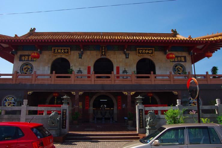 マラッカのお寺
