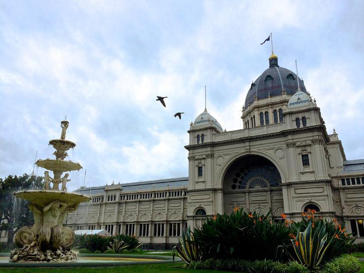 王立展示館とカールトン庭園 | メルボルンにある世界遺産