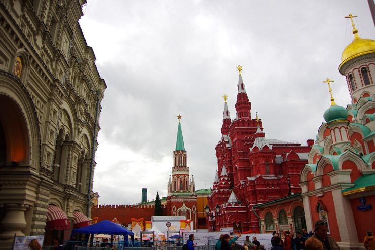 赤の広場の入り口