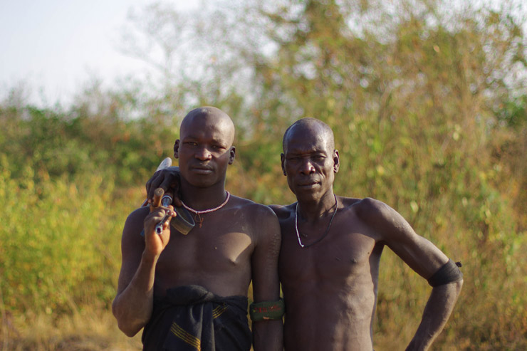 アフリカ南部の原住民