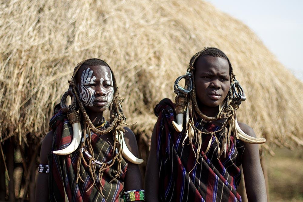 エチオピア南部の先住民族