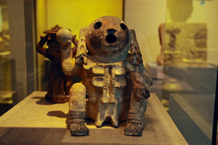 サポテカ文明とミステカ文明 オアハカ室
