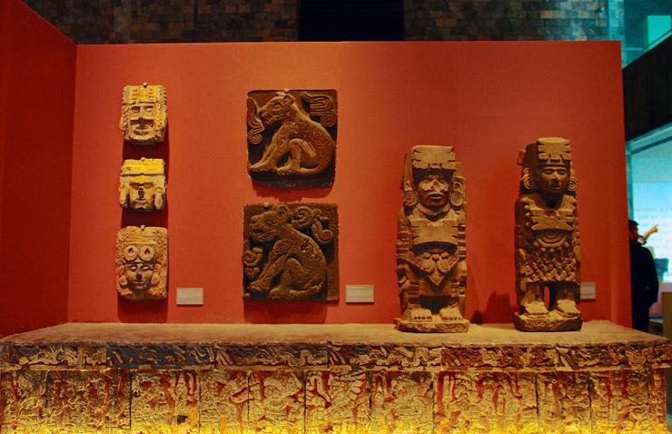アステカ文明 | メキシコ国立人類学博物館