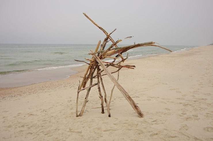 ニダのビーチ