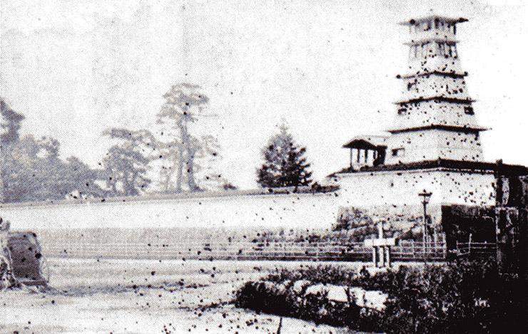 明治時代の二条城