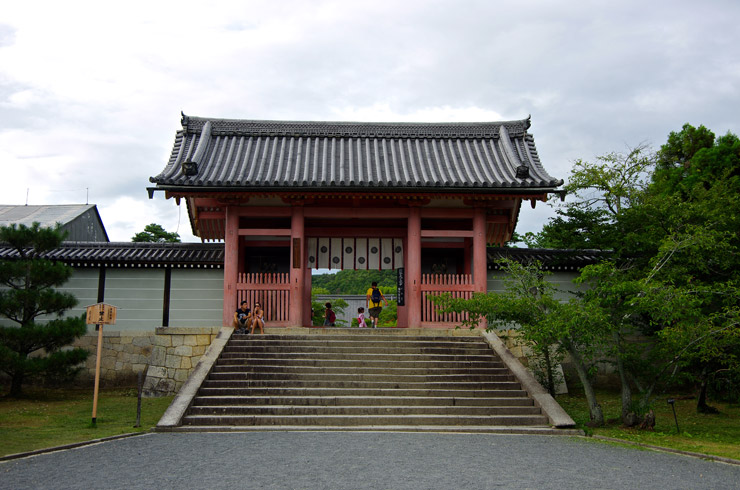 仁和寺の中門