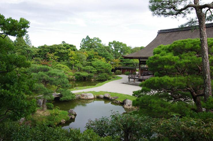 仁和寺の北庭