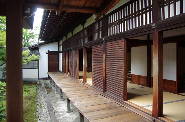 仁和寺の黒書院