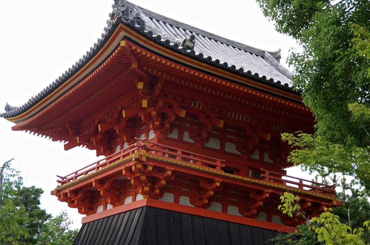 仁和寺の鐘楼