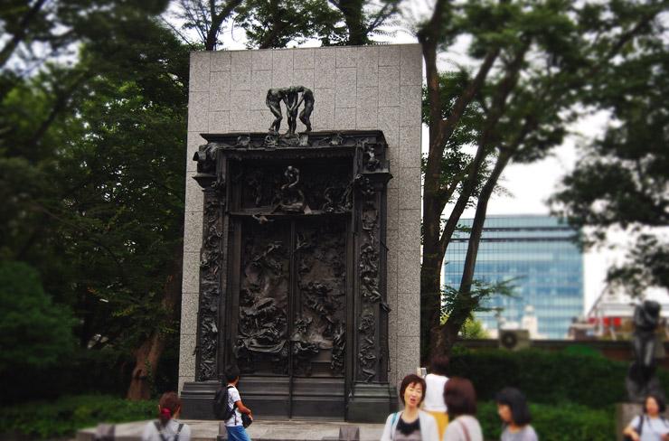 ロダンの『地獄の門』