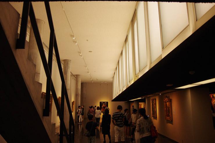 国立西洋美術館の内部