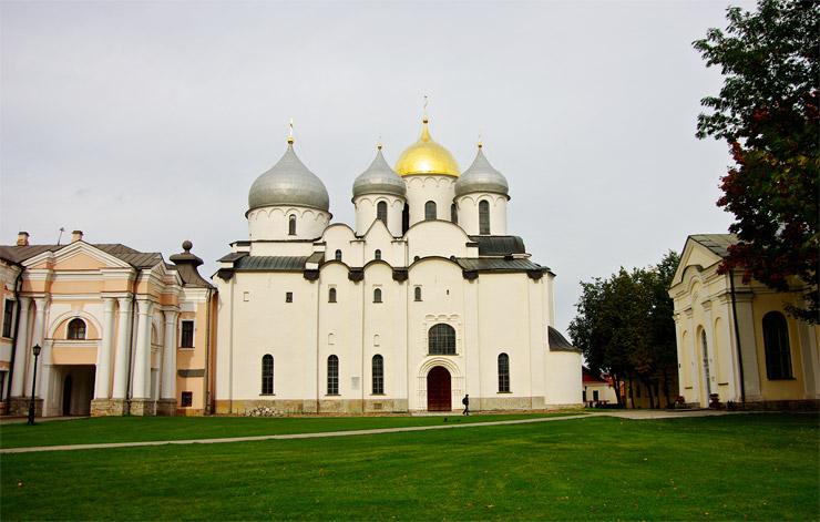 ロシア最古の建物、ソフィア大聖堂