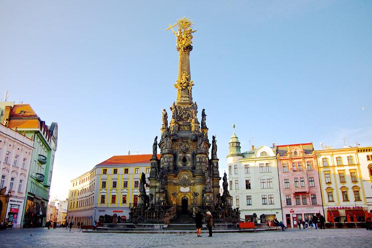 オロモウツの聖三位一体柱 | チェコの世界遺産