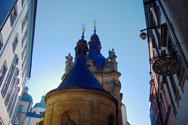 オロモウツクの旧市街
