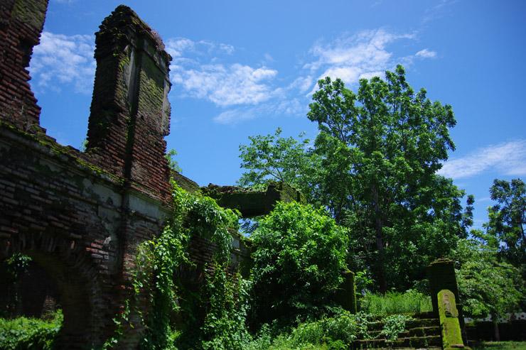 パオアイにある廃墟の写真
