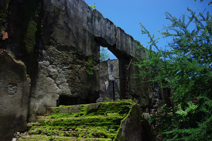 パオアイにある廃屋