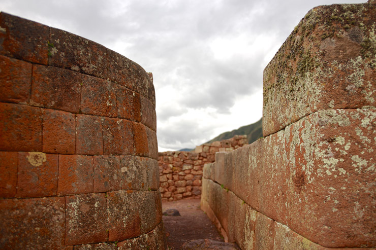 ミニ・マチュピチュと呼ばれるINTIHUATANA遺跡