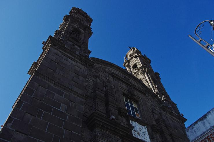 プエブラ歴史地区 Templo de San Cristóbal