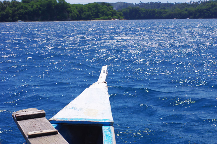 プエルトガレラの海