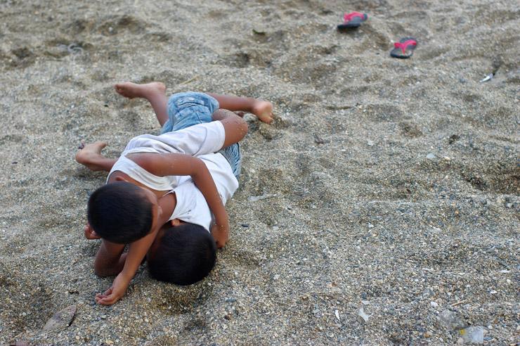プエルトガレラの子供達
