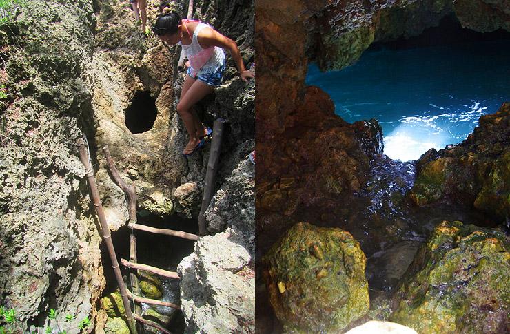 プエルトガレラ 海の洞窟
