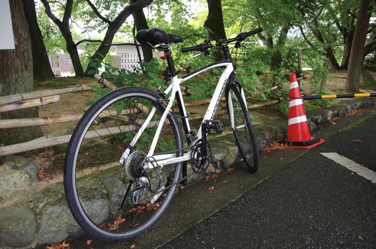 京都で借りたレンタルサイクル