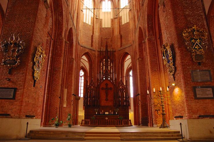 聖ペーテル教会の内部