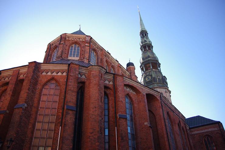 聖ペーテル教会の外観