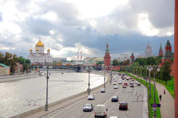 モスクワ、クレムリン周辺