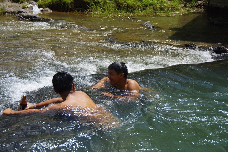 サガダの滝