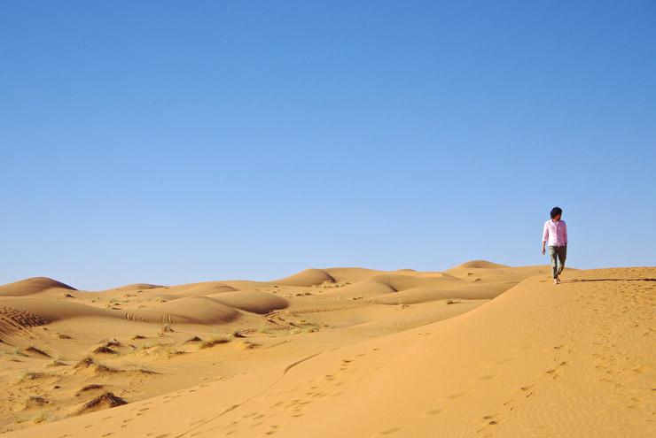 サハラ砂漠 モロッコ