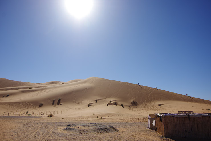 サハラ砂漠の風景は流石に絶景