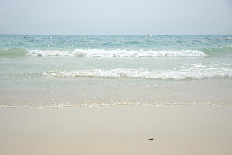 サメット島、シルバーサンドビーチ