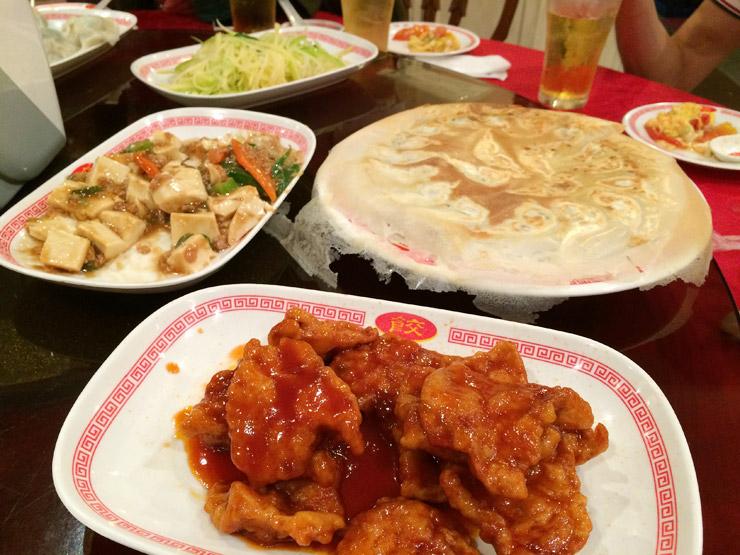 バンコクで食べた中華料理