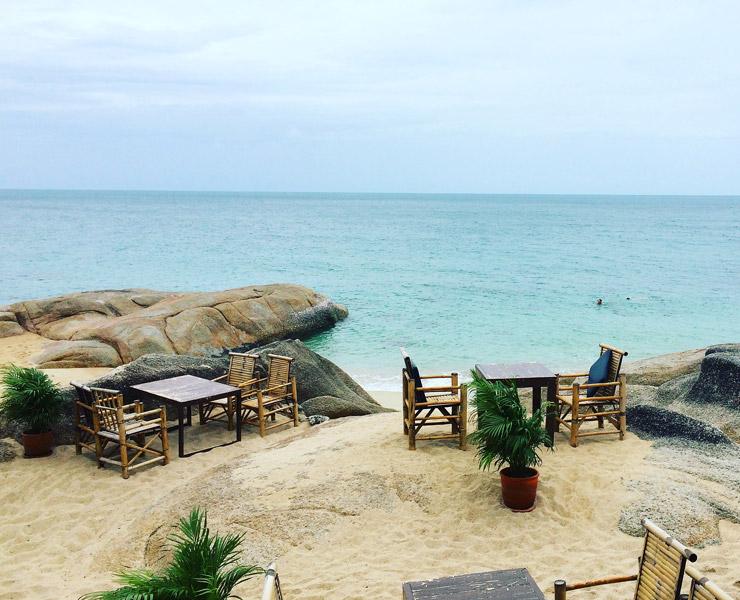 俺のビーチを探し求める旅 | サムイ島