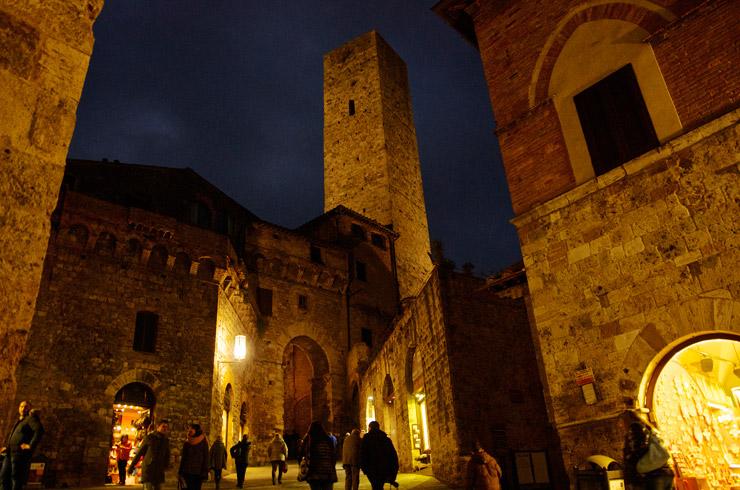 13世紀から14世紀の町並が残る世界遺産『サン・ジミニャーノ歴史地区』
