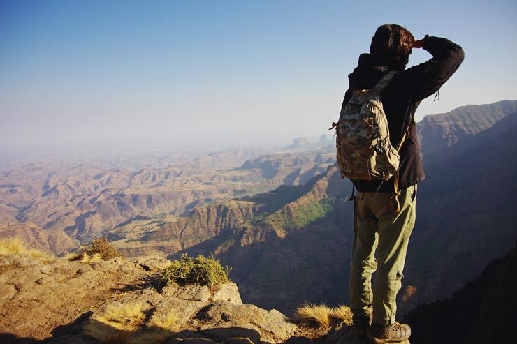 絶景!エチオピアの天井と言われる世界遺産『シミエン国立公園』