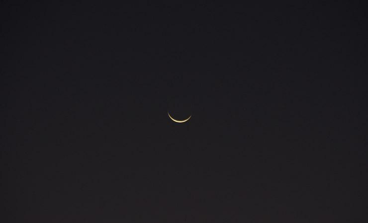アフリカの月