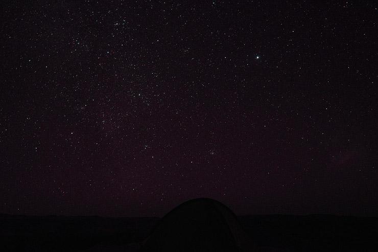シミエン国立公園の星空