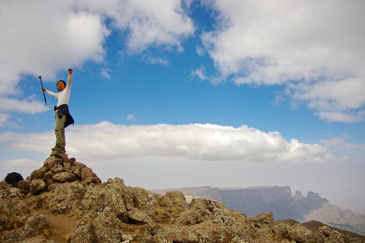 標高4444m!エチオピアで二番目に高い山 | シミエン国立公園4日目