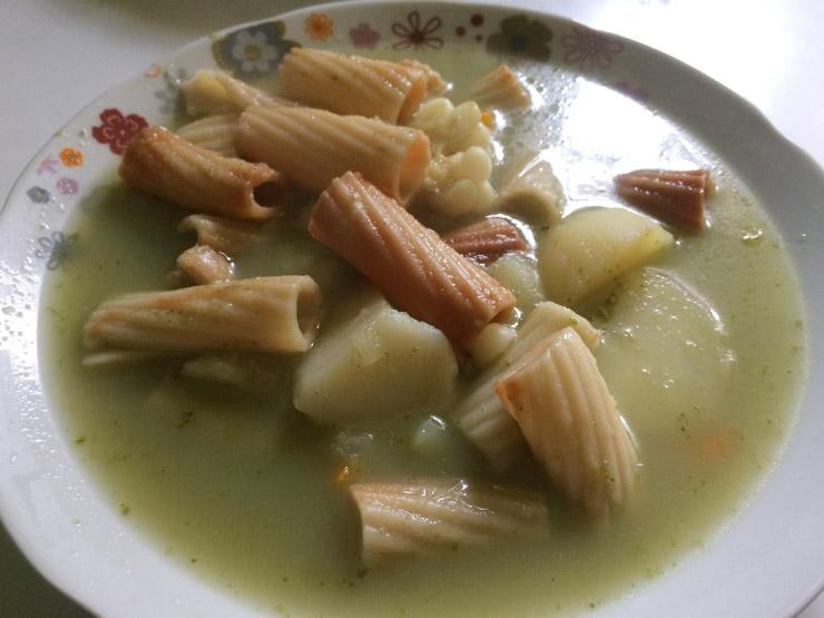 ペルー料理 スープ