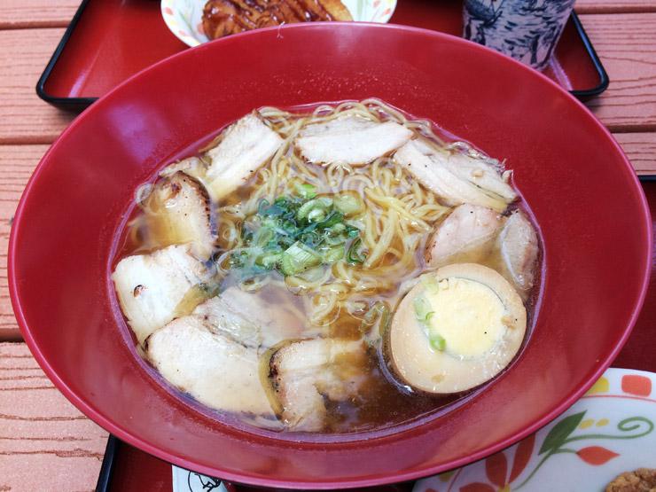 すき家のチャーシュー麺